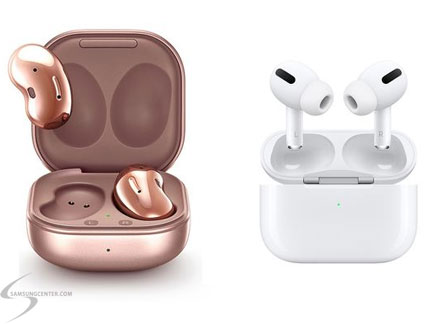 Airpods pro Buds live